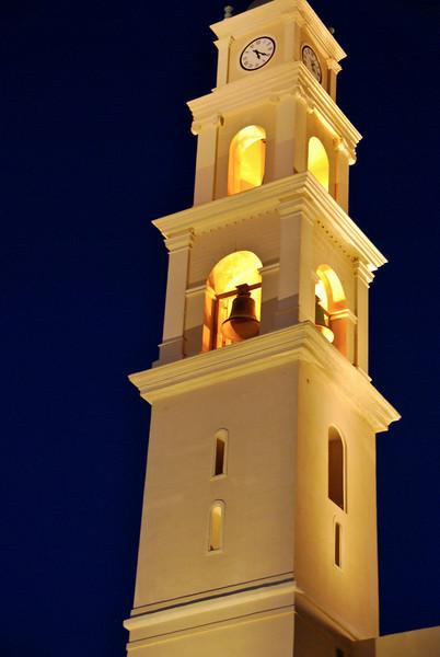 Clock Tower - St. Peter's Church, Jaffa, Israel (c) Daniel Yoffee