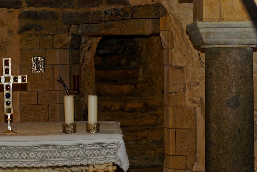 The Church of the Annunciation - Nazareth - Israel<br /> De tradição católica apostólica romana, ela assinala o lugar onde o arcanjo Gabriel teria anunciado o nascimento vindouro de Jesus à Virgem Maria (Lucas 1:26-31).