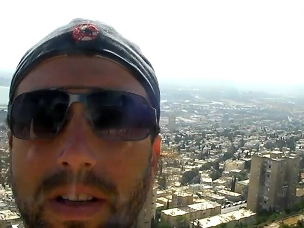 Kind of a cheesey clip of me narrating the view from Mt. Carmel above Haifa.  I will warn you now, it seems like the camera is connected to my neck.