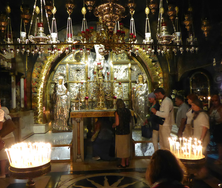 First Trip to Israel - Church of the Sepulchre