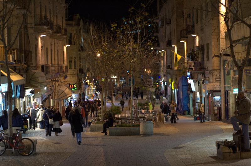 Jerusalem street life.