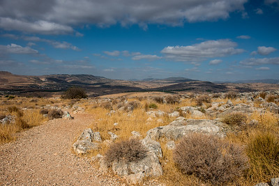 On top Mount Arbel