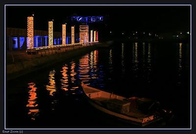 The restored Tel Aviv port
