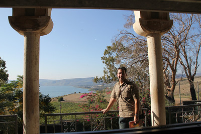 Mount of Beatitudes - where Jesus gave his sermon on the mount