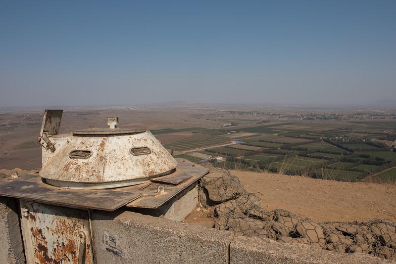 Mount Bental, Golan Heights