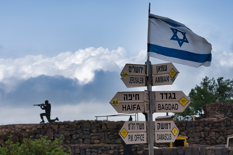 Golan Heights Outpost