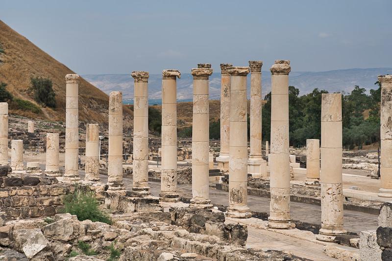Beit She'an National Park Roman Ruins