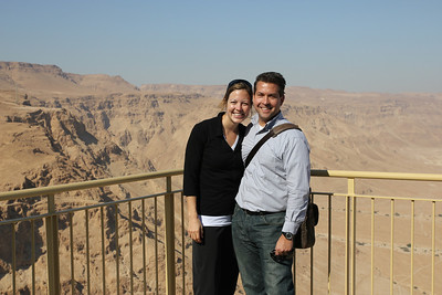 Masada - Finally, the Romans built a siege embankment, moving thousands of tons of stones and beaten earth to do so.