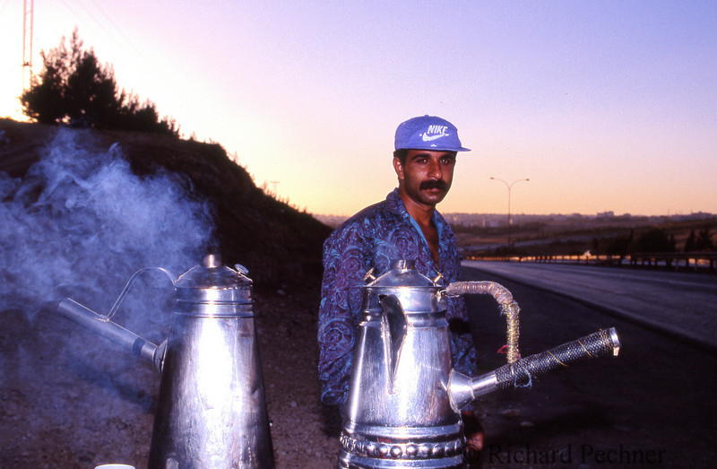 Roadside coffee, Amman, Jordan