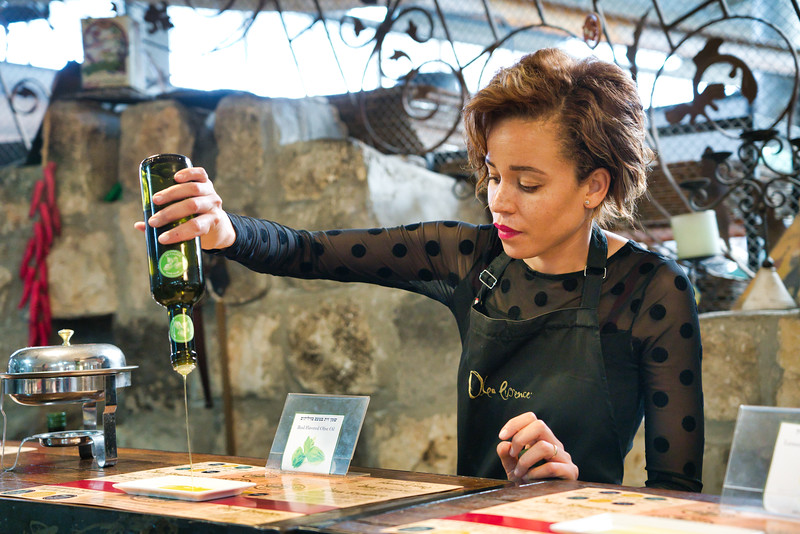 Olive Oil Tasting in the Golan Heights