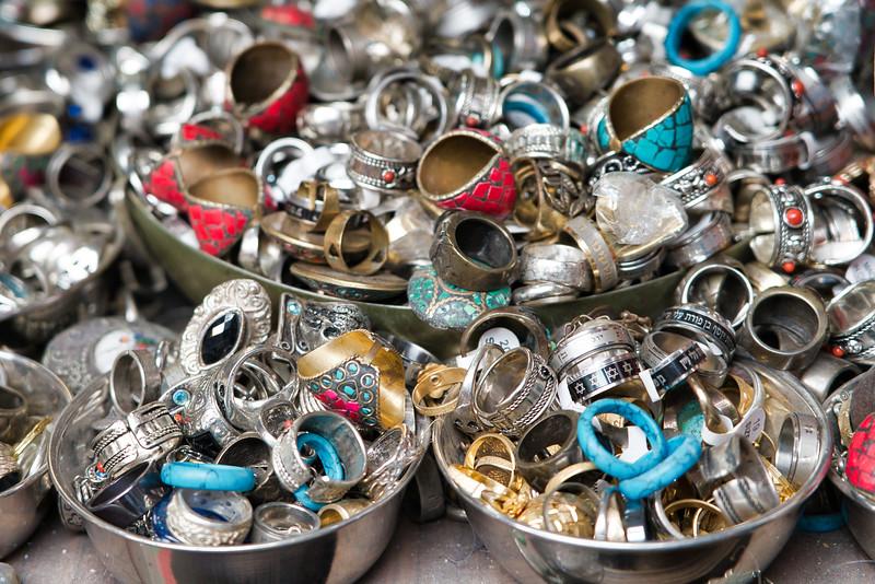 Tel Aviv Street Vendor Jewelry