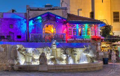 Night Colours in Jaffa