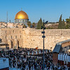 Western Wall and the Dome