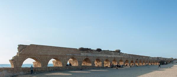 Roman Aqueduct, Caesarea Maritma