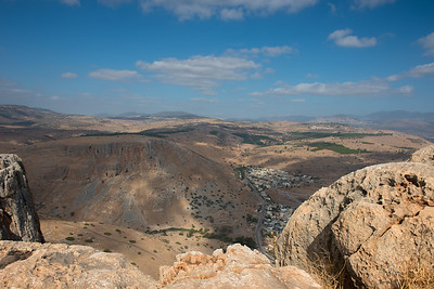 Northern view, Mount Arbel