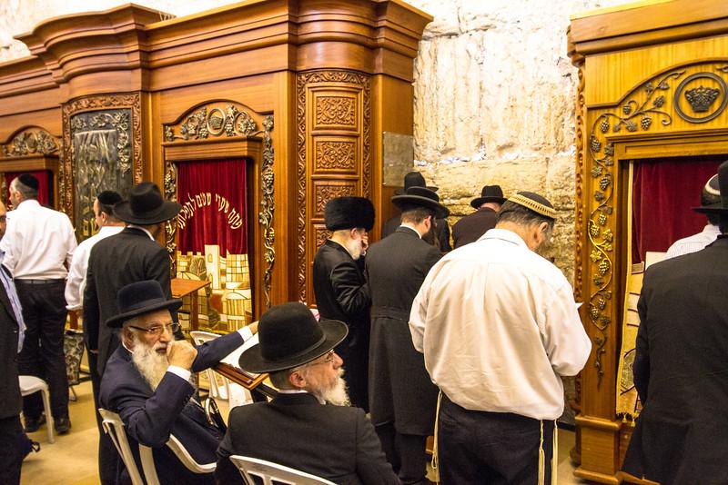 Jewish Men at Worship