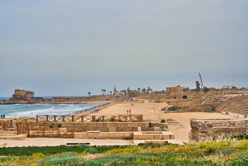 Caesarea Roman Ruins