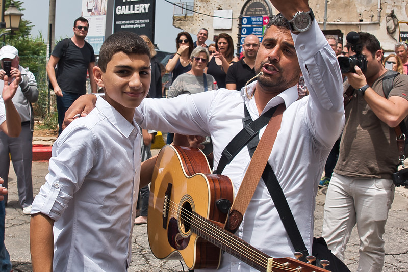 Tzfat Old City Bar Mitzvah Celebration