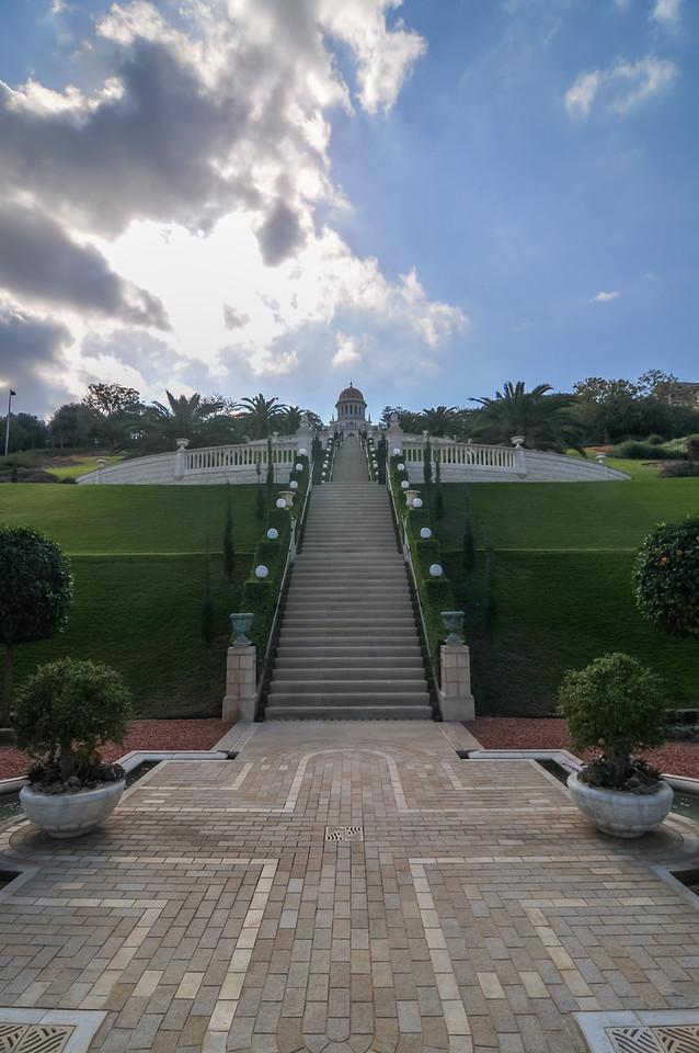 Bahai Gardens and Temple - Haifa, Israel