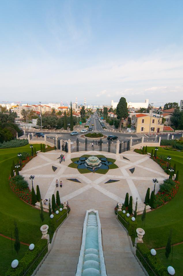 Bahai Gardens - Haifa, Israel