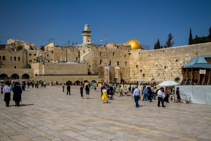 The Western Wall of the Old Temple Mount