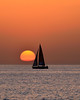 Sailing Through Sunset