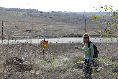 Golan Heights - There are still mines in the countryside!