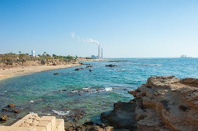Looking South from Caesarea Maritima