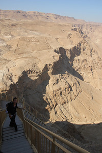 Masada - In 72, the Roman governor Lucius Flavius Silva laid siege to Masada. The Roman legion surrounded Masada and built several forts around it.  You can still see one of them here!