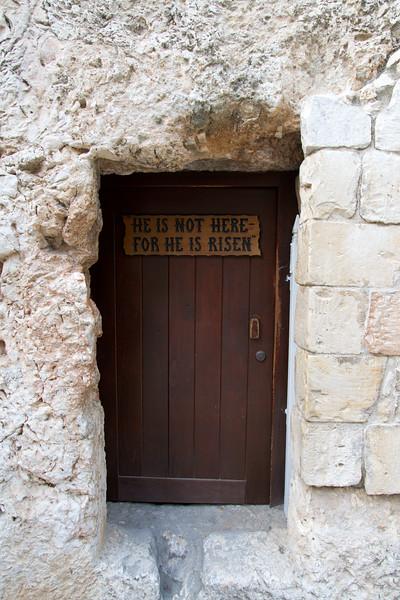 The Door of the Garden Tomb