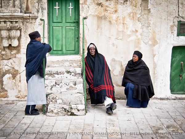 Three  Christian Quarter, Jerusalem, Israel.