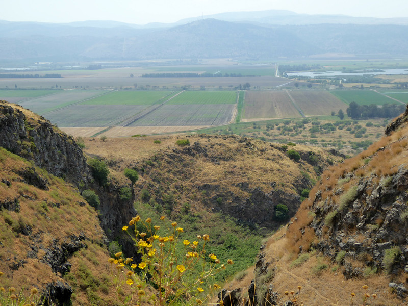 First Visit to Israel - Upper Galilee