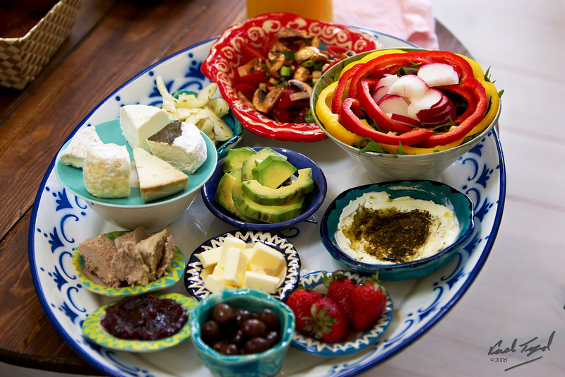 Food, Cheese, Chumus, Avocado, Israel, Breakfast