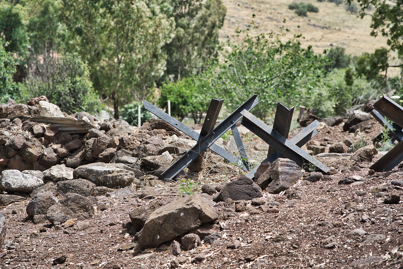 Golan Heights Anti-Tank Obstacles