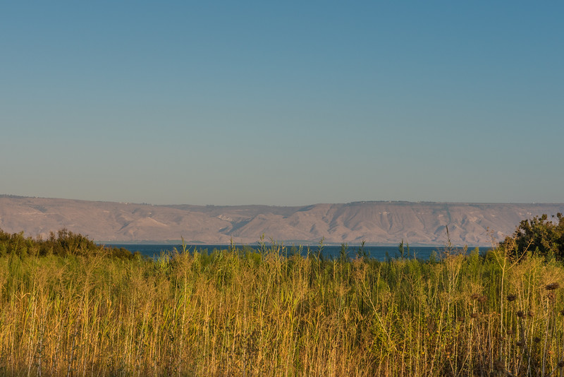 Sea of Galilee late afternoon