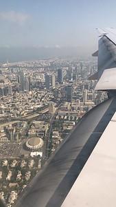 Landing, Tel Aviv