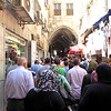 First Visit to Israel - Muslim Quarter of Jerusalem