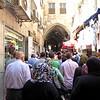 First Visit to Israel - Muslim Quarter of Jerusalem