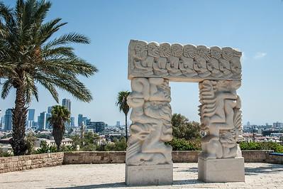 Statue of Faith,  Abrasha Park, Joppa