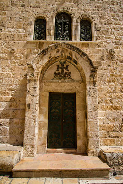 Door at the Church of the Holy Sepulchre