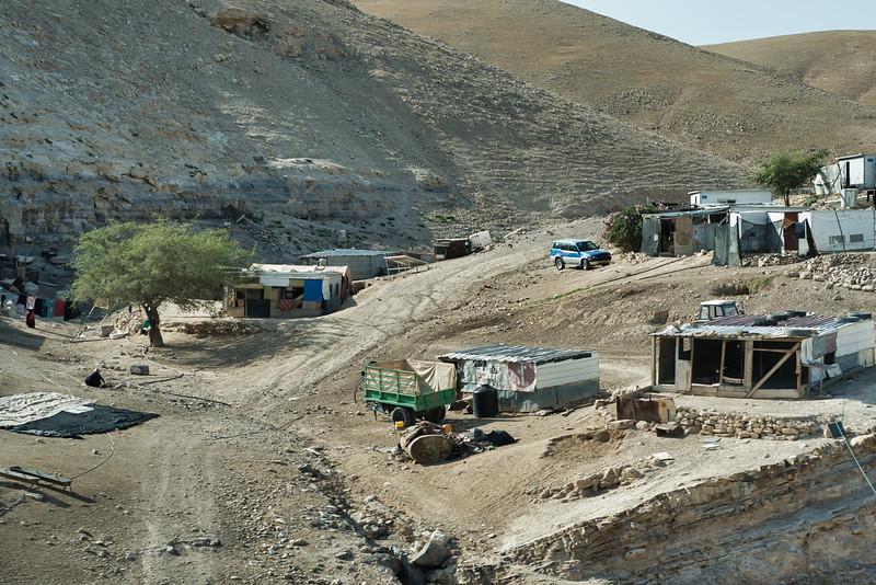Bedouin Camp Near Jerusalem