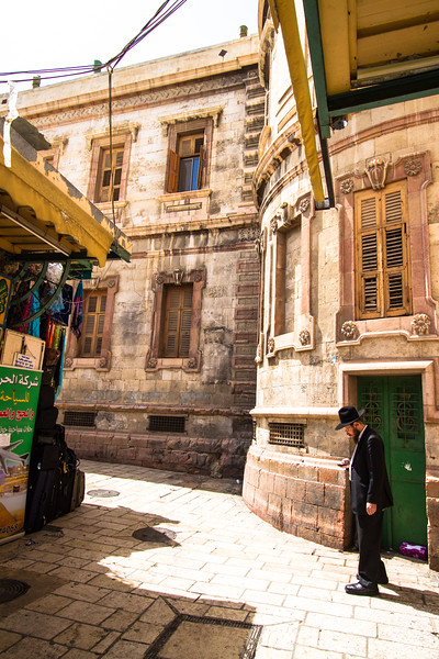 A Jewish Man in the Christian Quarter of Jerusalem