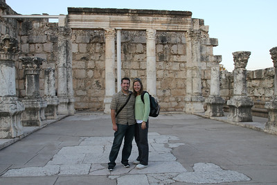 Capernaum - The town where Jesus lived after he left Nazareth and where Peter lived.