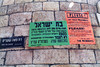 Meah Shearim wall notices