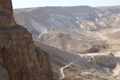 "Masada - And the embankment still stands today!  Alas, when the Romans finally broke through they discovered all 960 inhabitants had committed suicide the night before ending the Jewish state in Palestine until 1948.  A common phrase among the Jewish soldiers today is  ""Masada shall not fall again."""