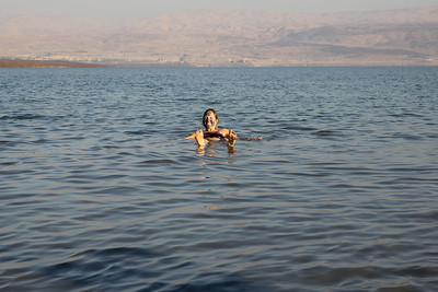 Dead Sea - You are so buoyant it's impossible to drown.