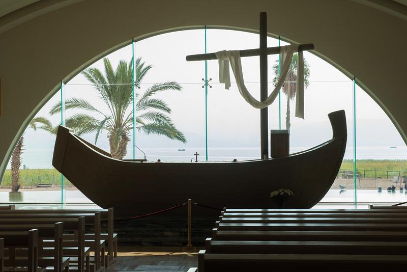 Boat Chapel, Magdala