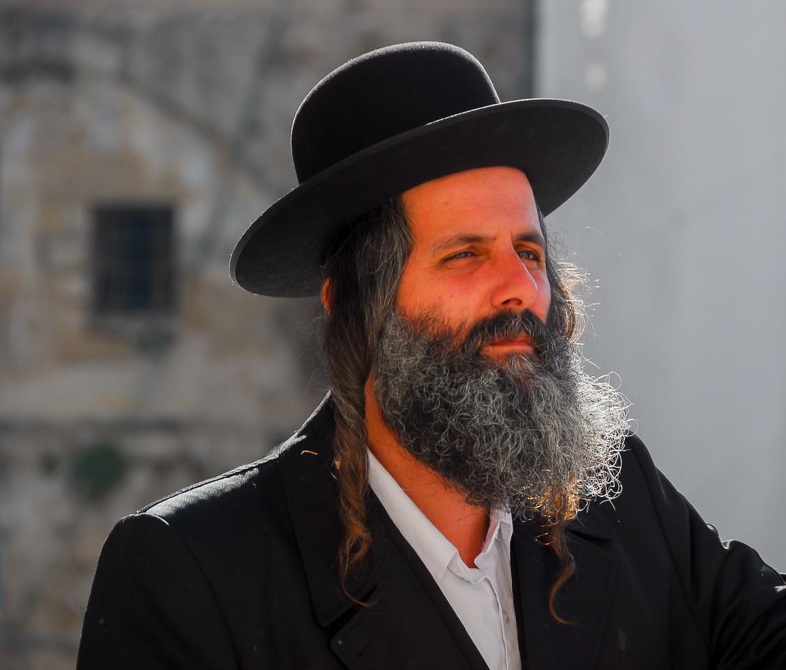 Orthodox Jewish Man, Israel