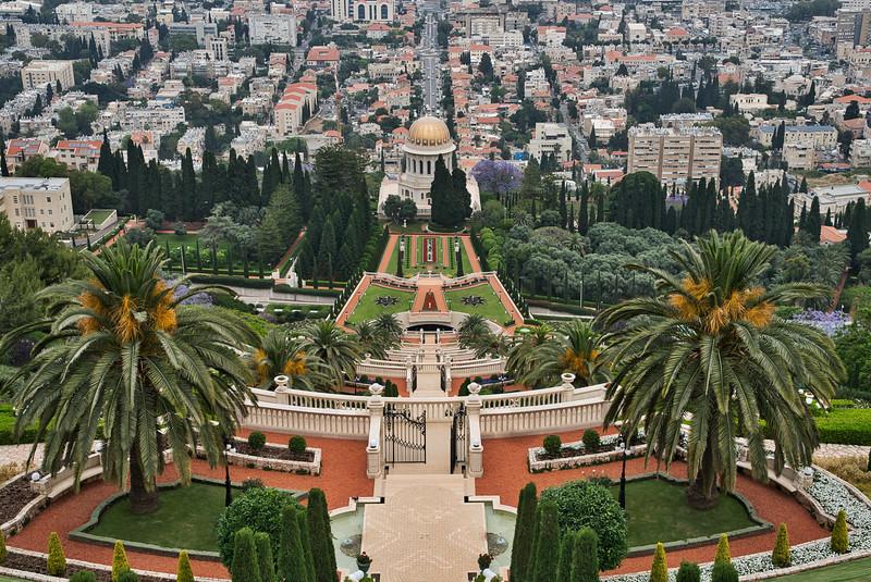 "Haifa Bahai Gardens ""Eighth Wonder of the World"""