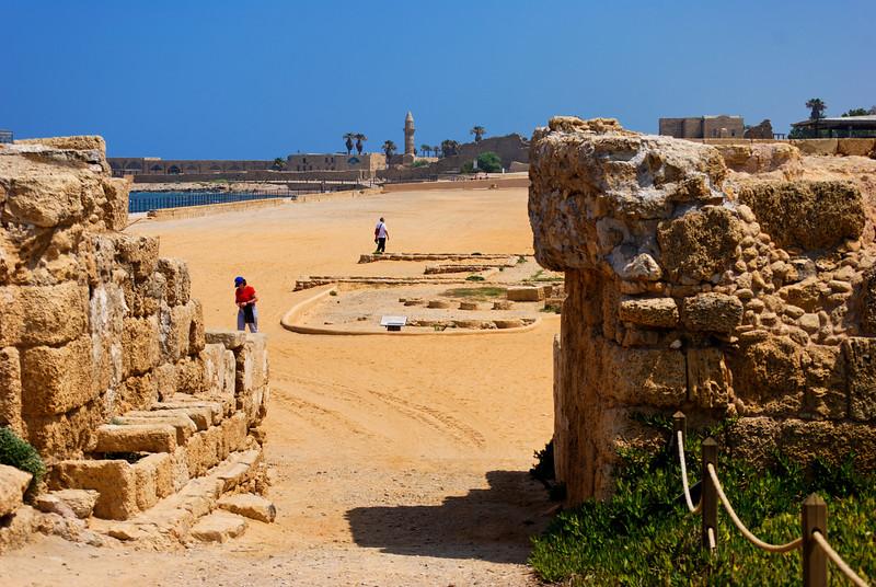 Caesarea National Park - Haifa - Israel
